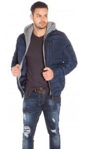 Trendy Mens Winterjacket Navy