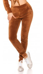 Trendy Nicki Joggers Brown