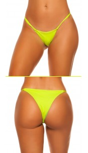 Mix It!!! Sexy KouCla Brazilian Bikini Slip Neonyellow