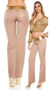 Sexy KouCla Bootcut pants Cappuccino