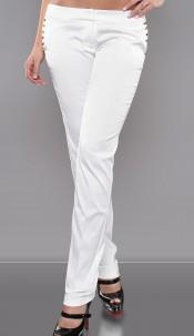 Sexy studded KouCla-pants White