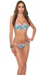 Sexy neckholder-bikini Apricot