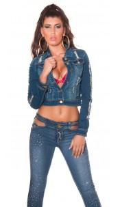 Sexy Koucla jeans jacket usedlook Jeansblue