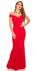 Elegant RedCarpetLook! Evening Gown off shoulder Red