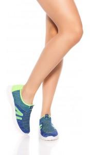 Sporty Slip-On Sneaker Blue