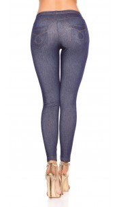 Sexy Jeggings with pockets Blue