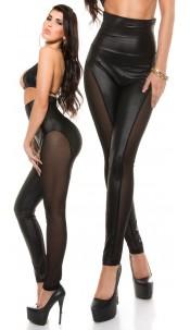 Sexy KouCla Highwaist Leggings with insight Black
