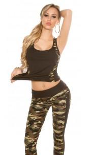 Trendy Workout Tank Top Black