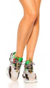 Trendy Sneaker Green