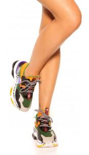 Trendy Sneaker Orange