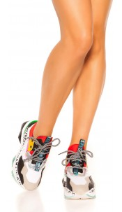 Trendy Sneaker Red