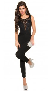 Sexy Koucla overall with lace Black