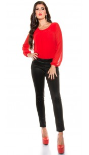Party jumpsuit Red