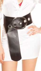 Sexy XXL waist belt Black
