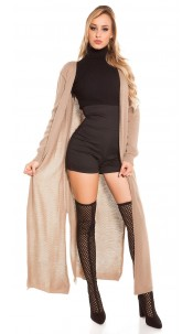 Trendy Koucla knitting coat Cappuccino