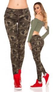 Trendy Camouflage JoggJeans Army