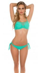 Sexy Bikini with Mesh Mint