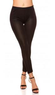 Sexy leggins with shiny-optics Black