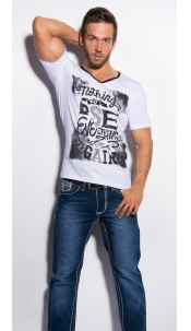 """Trendy T-Shirt """"Nothing to Lose"""" White"""