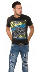 "Trendy T-Shirt ""Roadster"" Black"