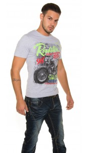 "Trendy T-Shirt ""Roadster"" Grey"