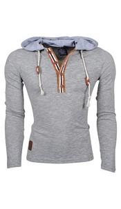 Long-Sleeved-Shirt Gray