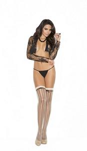 Stockings Nude / Black