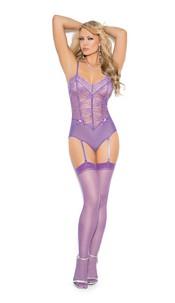 Stockings Dahlia-Purple