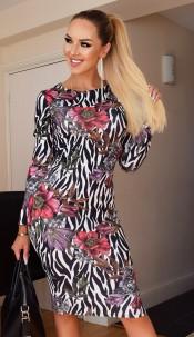 Erin Bodycon Midi Dress Ivory
