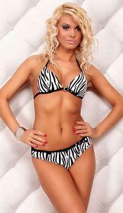 Bikini Zwart / Wit