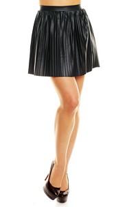 Wetlook Skirt Black