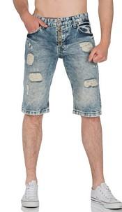 Capri-Jeans Lichtblauw