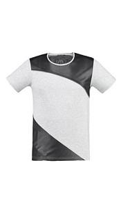 T-Shirt Gray-melange