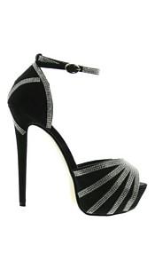 Sandaletten Zwart