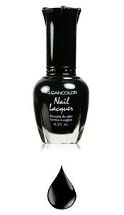 Nailpolisch Black