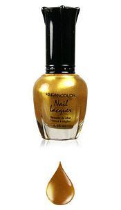 Nailpolisch Metallic yellow