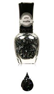 Nailpolisch Black glitter