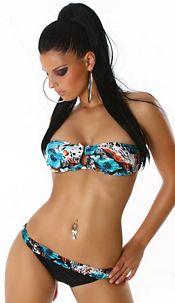 Bikini turkoois-kleurig