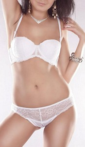 Bra + String White