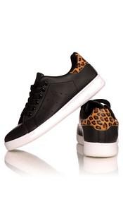 Sneakers Zwart / Luipaard