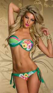 Bikini Mixed groen