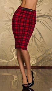 Skirt Red / Black