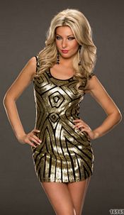 Dress Black / Gold