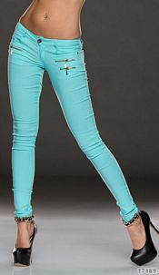 Jeans Turquoise