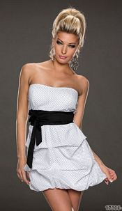 Dress White / Black
