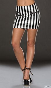 Skirt Black / White