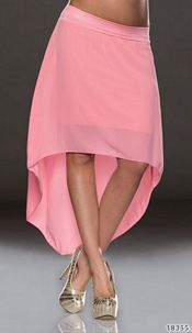 Mullet-Skirt Lightpink