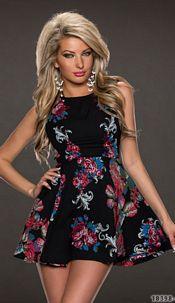 Minidress Mixed / Black