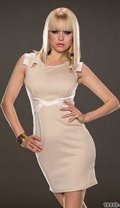 Minidress Creme