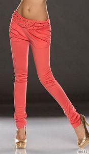 Skinny Pants Brightorange